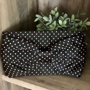 BETSEY JOHNSON 🎀 Polka Dot Large Bow Clutch